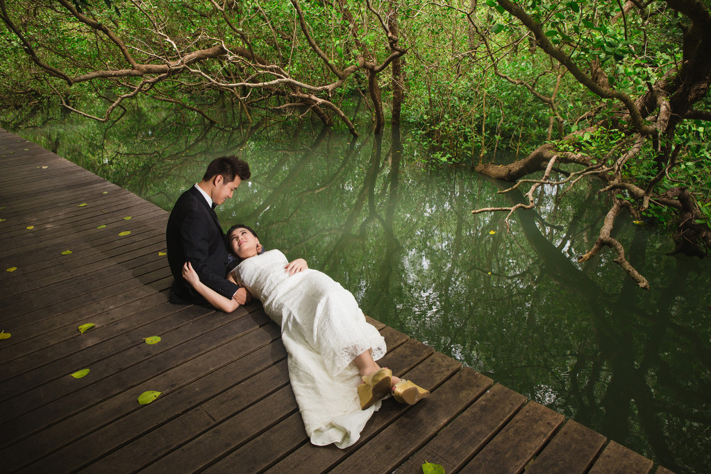 Bali Pre Wedding Mangrove Forest HeryPortrait