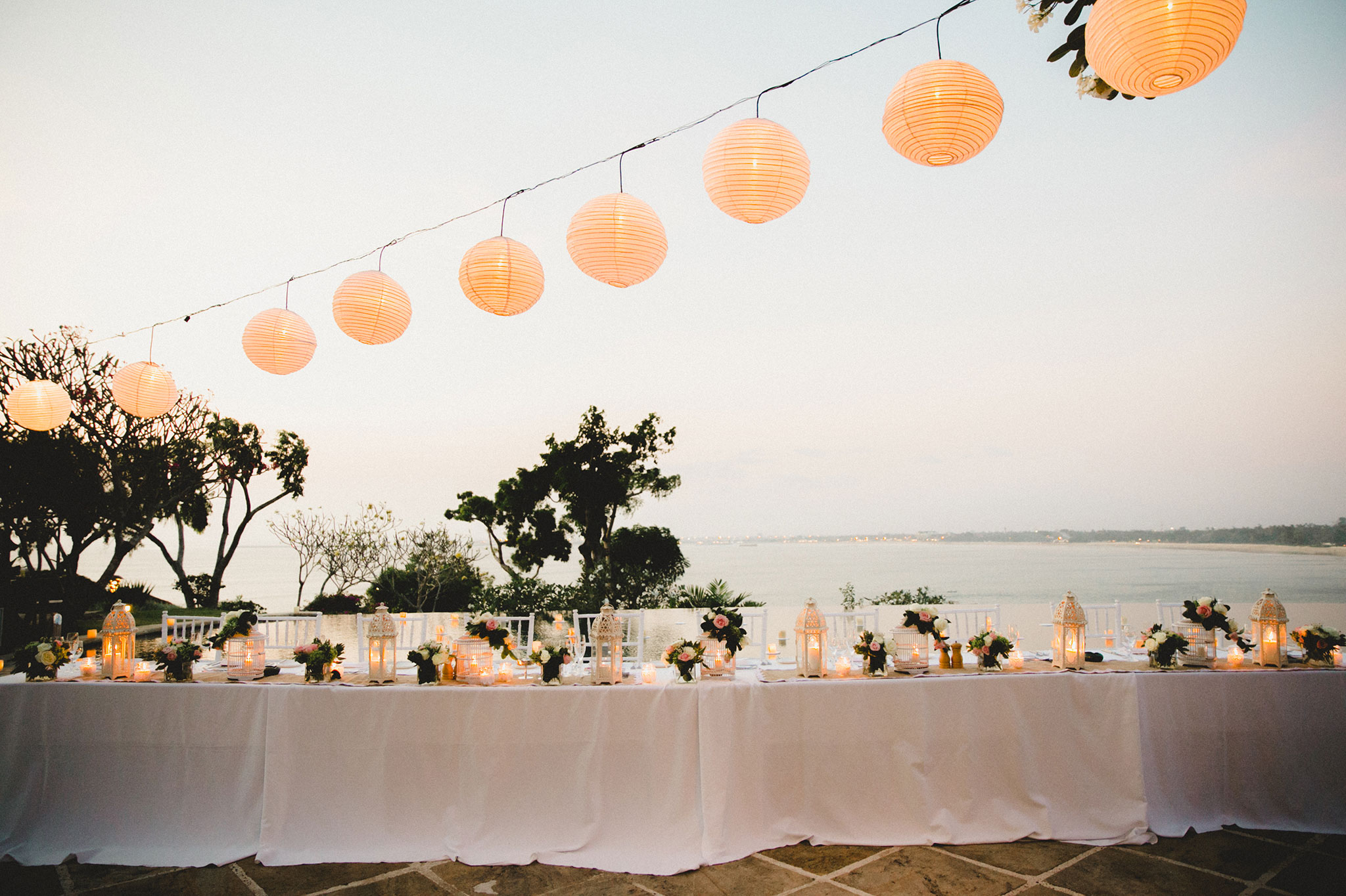 Beach Wedding in Bali at Four Seasons Jimbaran by Terralogical