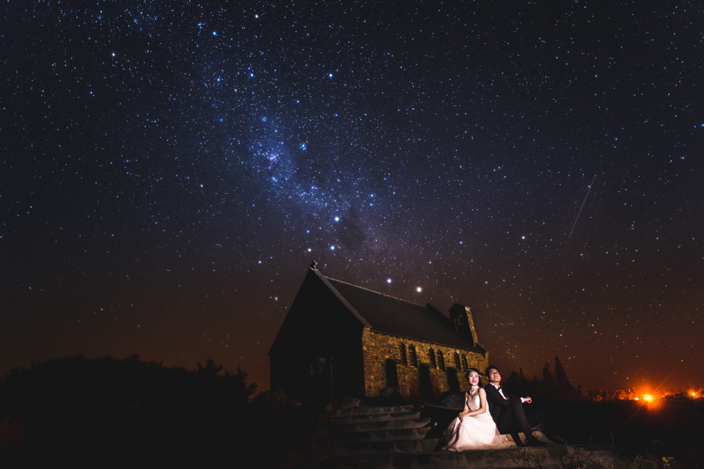 Christchurch Shooting Wallpaper: New Zealand Pre-wedding Photoshoot Under The Stars