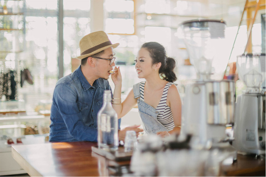 6 cafes for bali pre wedding photography blog for Buro shop concept