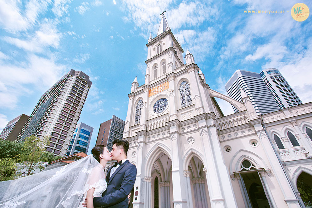Me&you studio chijmes wedding photographer singapore