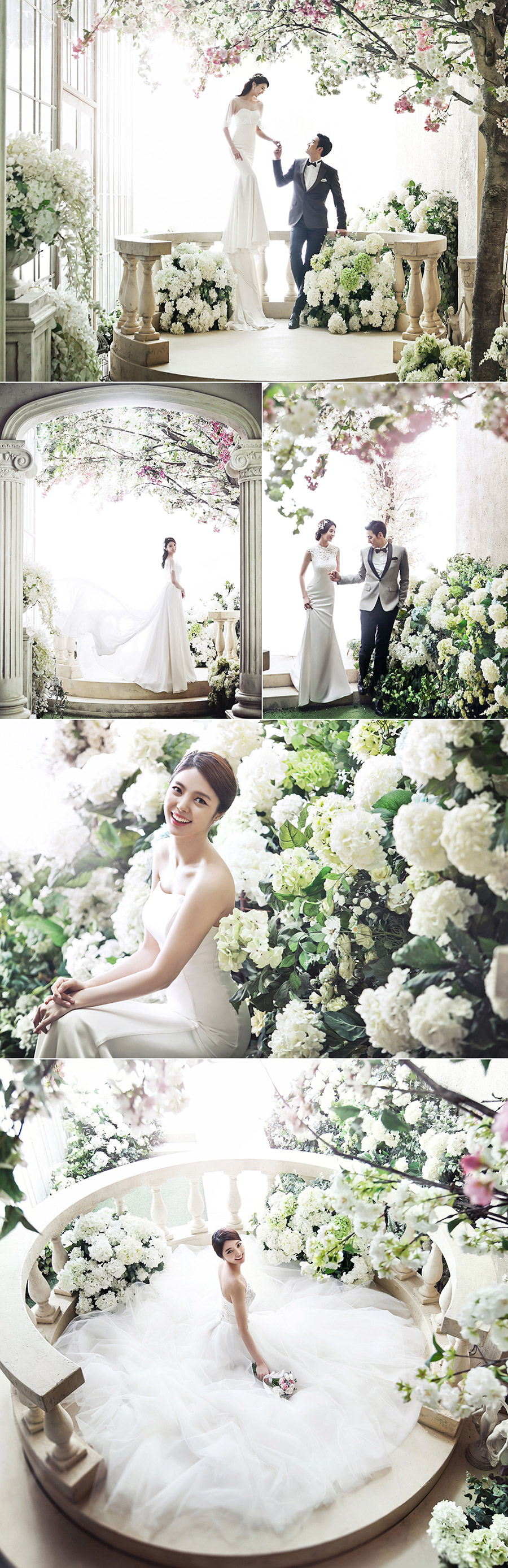 Korean Wedding Photo Concept Pium Studio Fl