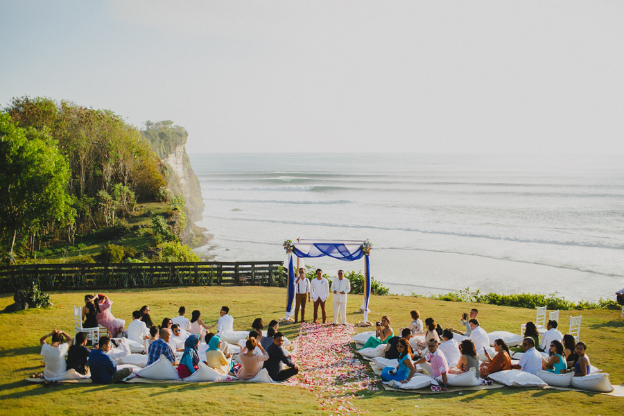 wedding venue in Bali - Uluwatu Surf Villas by Iluminen via OneThreeOneFour.com