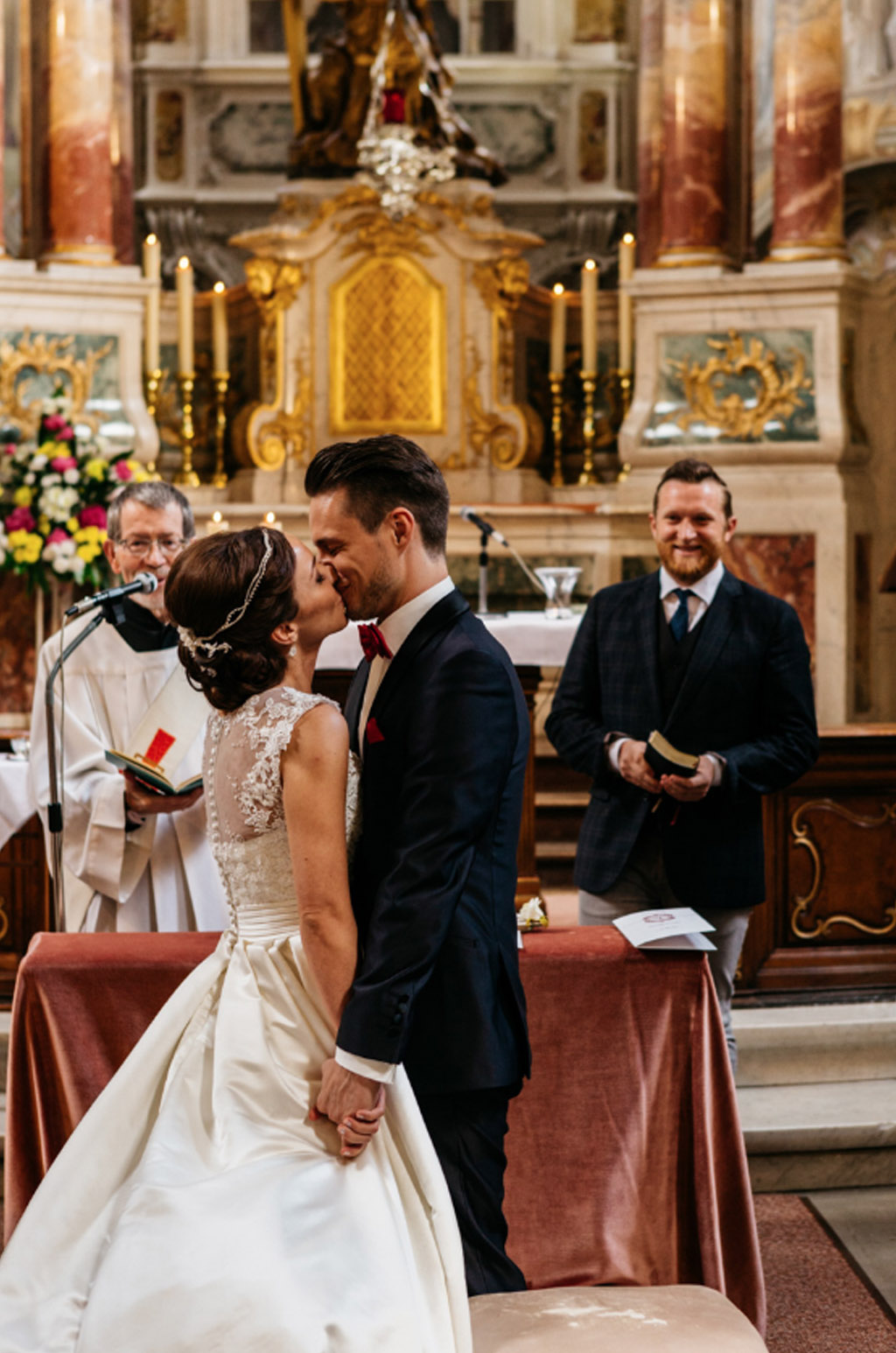 Timeless And Traditional German Church Wedding In Bonn