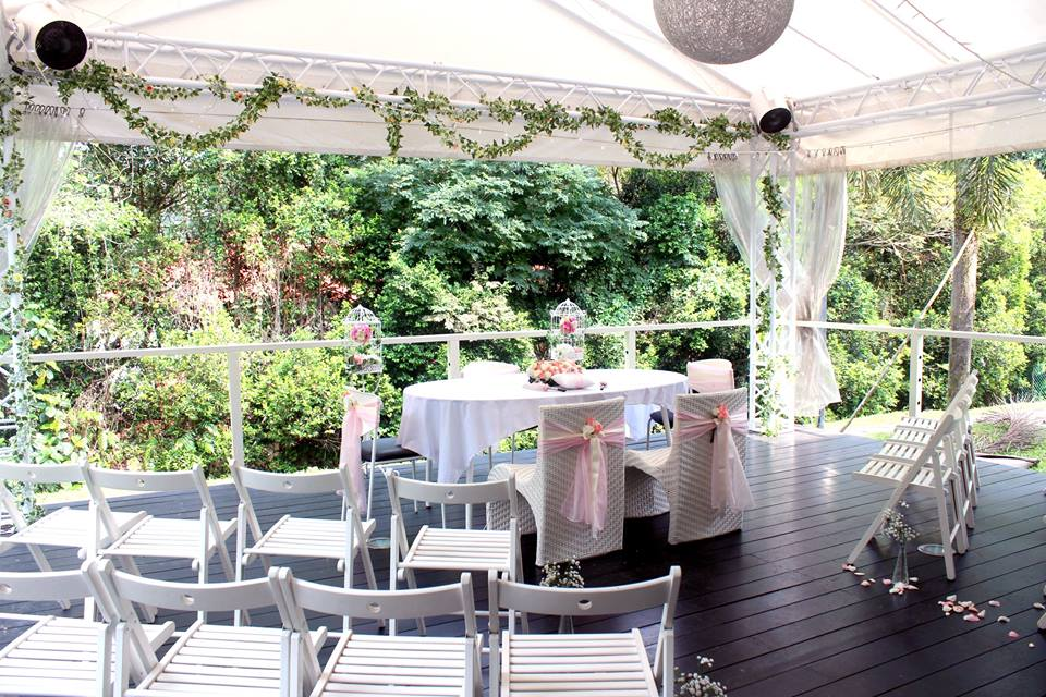 Boufe Boutique Cafe Garden Wedding Venues Singapore