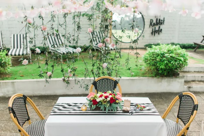 The White Rabbit Garden Wedding Venues singapore