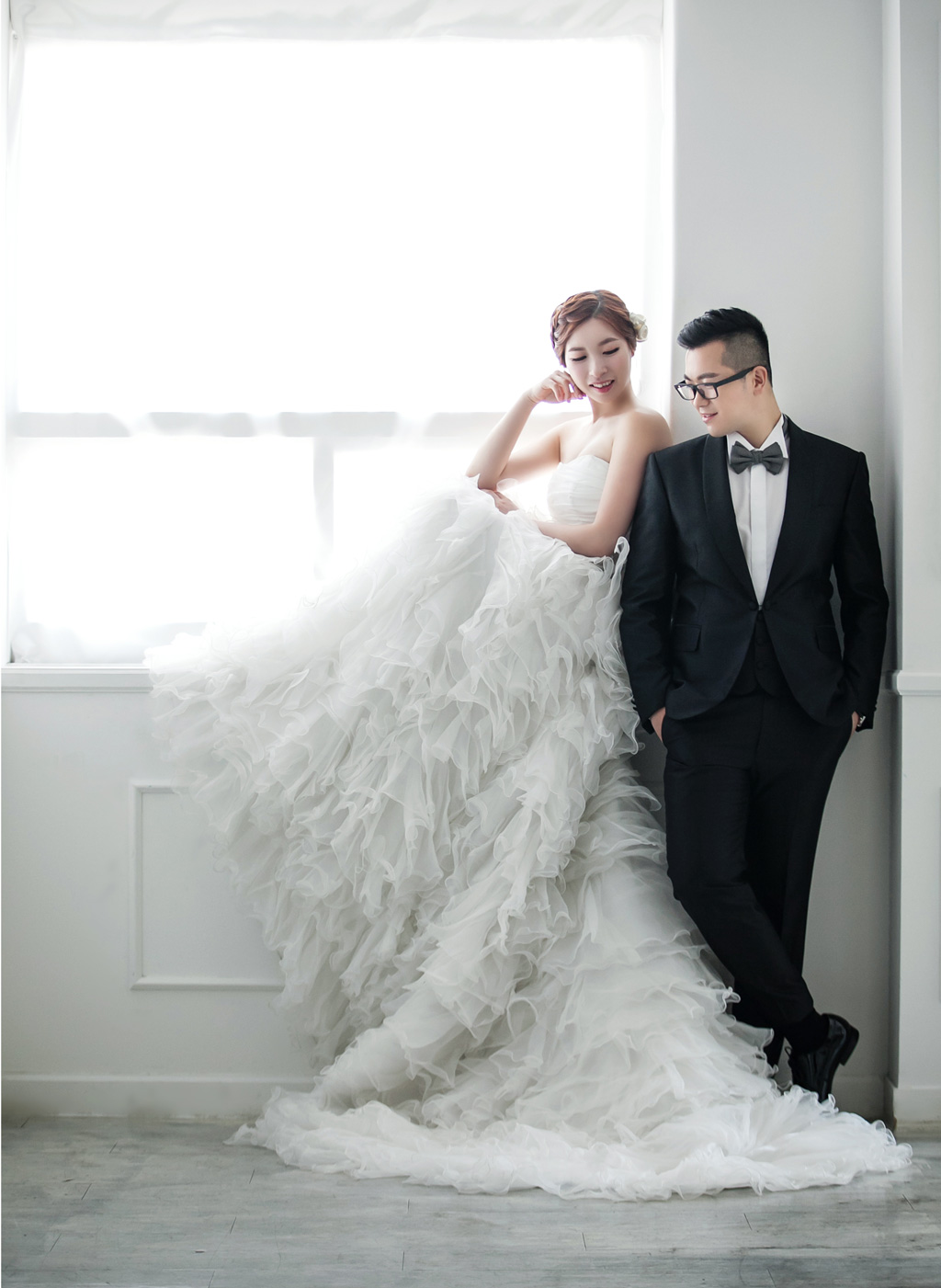 Korea Studio Prewedding Photoshoot Kuho Onethreeonefour
