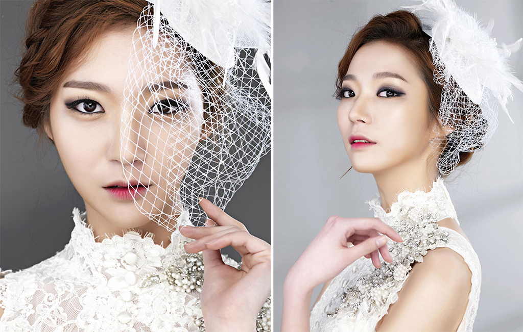 korean bridal makeup gradient lips onethreeonefour