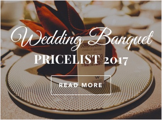 Singapore Wedding Banquet Pricelist 2017