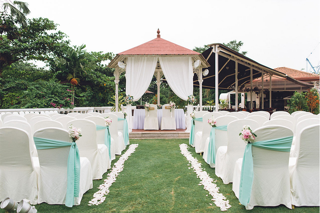 garden wedding singapore wedding venue alkaff mansion