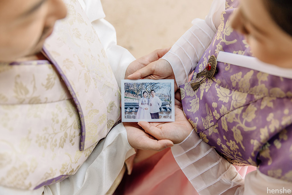post wedding photoshoot-korea-hanbok-namsangol village-jungyeol-onethreeonefour-14