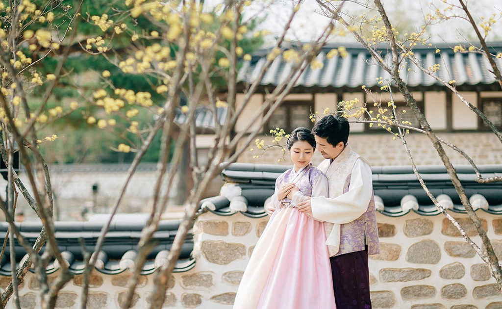 Travel Back In Time With A Traditional Hanbok Photoshoot