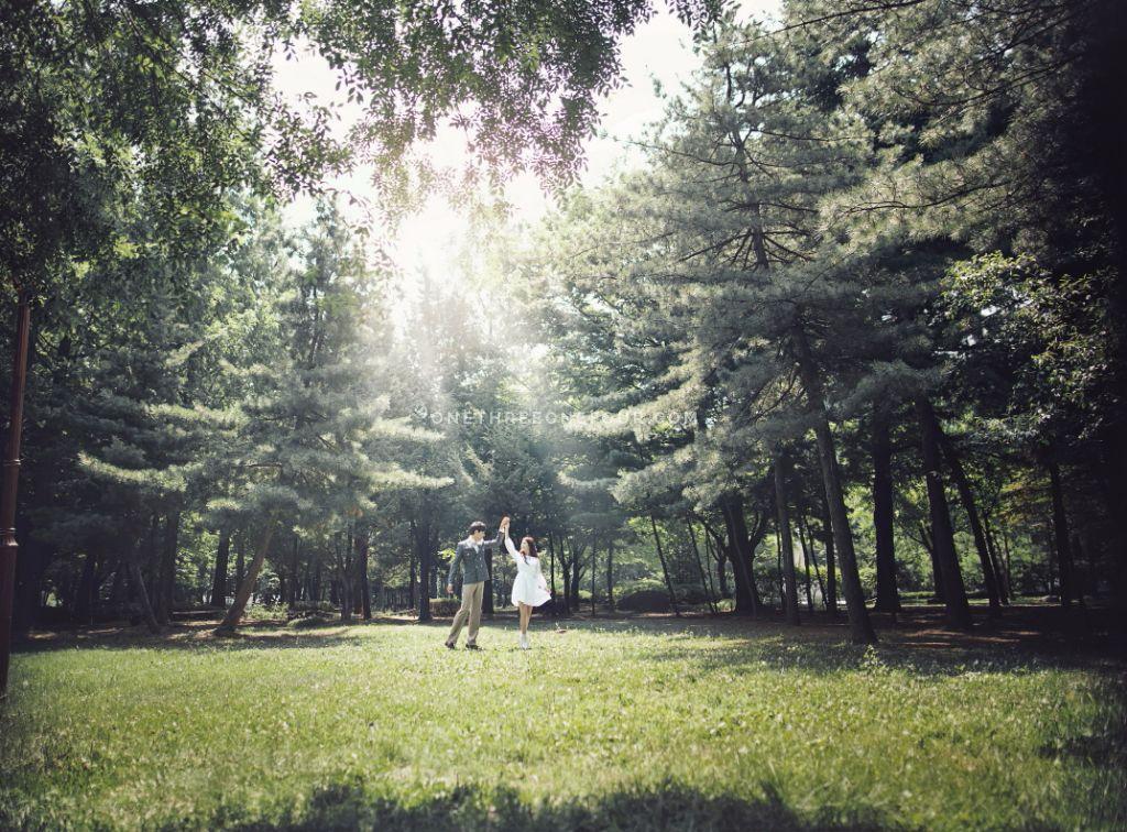Korea outdoor wedding photo by May Studio