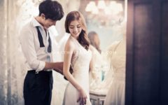 korean pre-wedding photo at May Studio