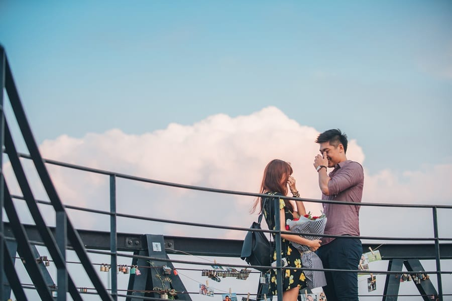 Tzu Wei & Jocina Surprise Proposal in Seoul 20