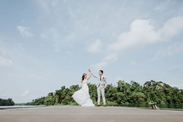 wedding at macritchie reservoir park