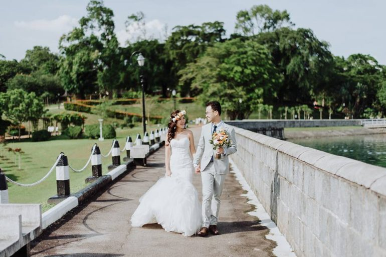 Different Types of Wedding Dresses - Mermaid Andri Tei Photography 1