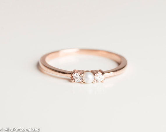 Unique Engagement Rings - AlyaPersonalised $552