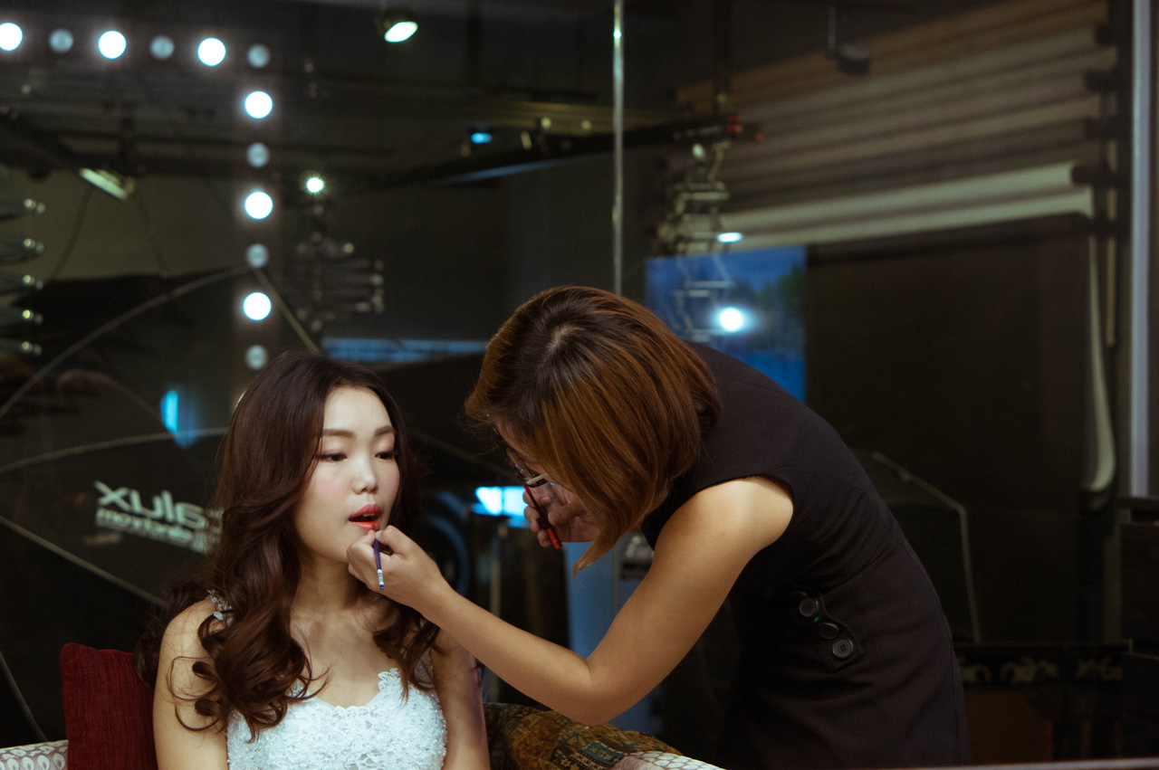 trial makeup session with cherry au from autelier makeup