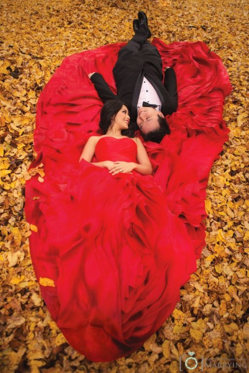 Autumn Engagement Photoshoot ideas - Theres Something About Marrying