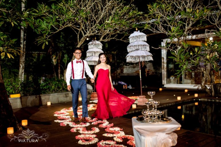 Wedding decoration ideas - Bali Pixtura Petals