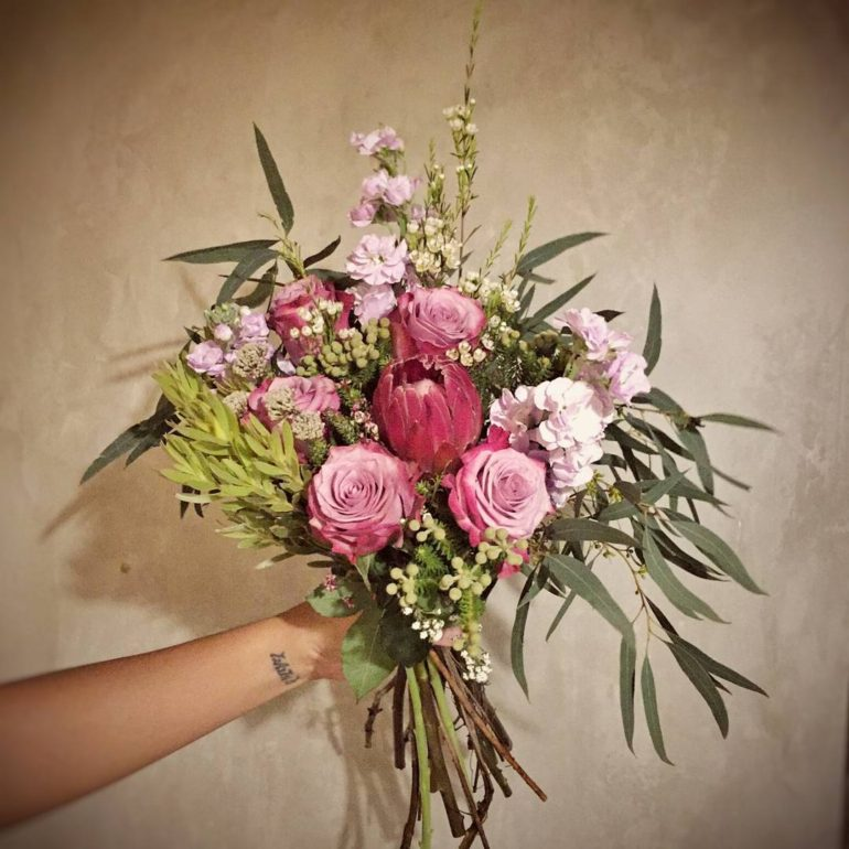 Flower bouquets - Bloomen rustic