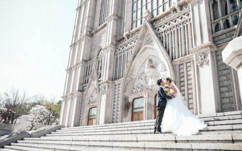 seoul kyunghee university pre-wedding photo