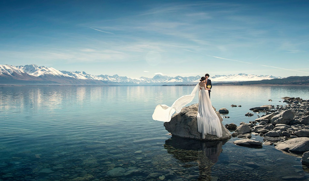 Nz Shooting Hd: Top 5 Lakes For Your Pre-wedding Photoshoot In New Zealand